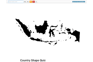 Country Shape Quiz