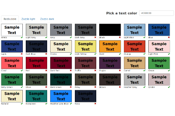Shirt Color Helper for Redbubble and Zazzle